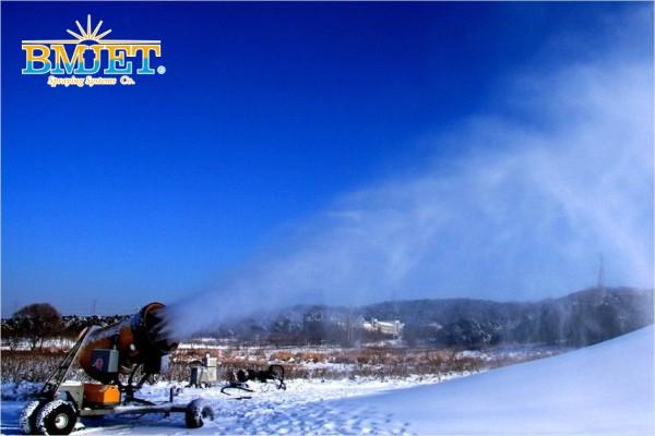 实心锥形造雪喷嘴造雪效果