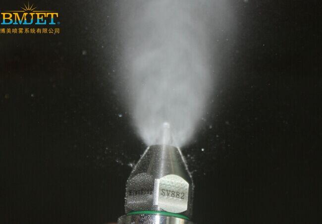 超声波雾化喷嘴喷雾效果